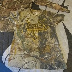 Camouflage shirts bundle for kids(medium size)